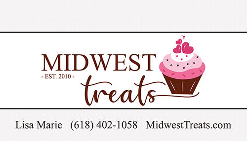 Midwest Treats Business Card