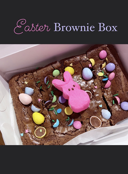 Easter Brownie Box